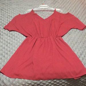 Nymphe Women's Maroon Dress Size L